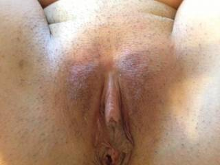 Beautiful pussy. I would love to see more of your awesome clit with the hood pulled back a little.