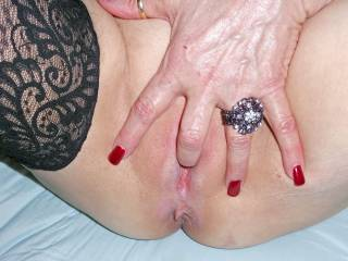 Love the pic. I want to lick that finger then lick and fuck that pussy all night