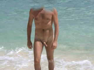 afternoon lazy and naked to the beach