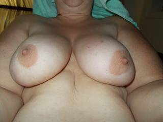 I'd place kisses all over these beauties...mmmmmm and lovely belly mmmmm sweet touches and kisses of love...all over.