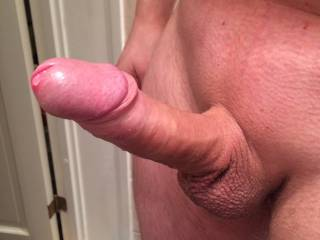 Nice, I would love to see you put that great cock in my GF's mouth, and make her suck it rock hard. Then slide it in her tight pussy, nice and slow while you play with her little clit, and fuck her good till you fill her pussy with cum😉