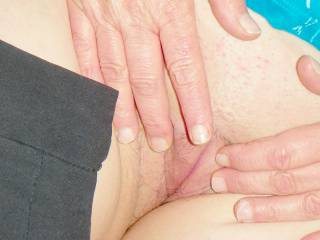 My ex-wife spreading her sweet tasty pregnant pussy, i love eating her pussy she tastes so good, but she doesnt like me eating her!! Something is going to have to change real soon now!