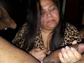 """JAPANESE/MEXICAN STACI - she hit my up online and said, """"Is your BBC as good looking as you are? I promptly told her, """"Darling, are you ready for your up-close and personal inspection?"""" her reply was """"Your due for a thorough inspection this weekend."""