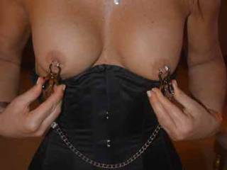 love my nipples squeezed hard