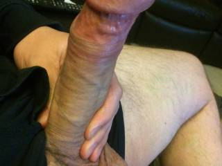 My hard cock ready to be sucked & ridden