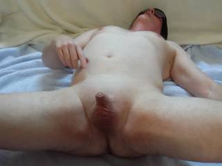 Showing off my tiny dick.  Comments encouraged and welcomed!
