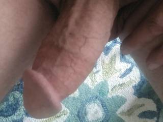 Morning wood old cock wanting to play 👀👀