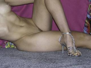 Just showing off my new heels. What do you think?