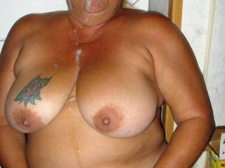 Deb, you would have no trouble getting a hot load of cum out of me. Would love to spurt it on you!