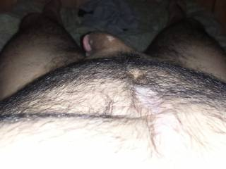 would love to play with the hair on your chest  :)