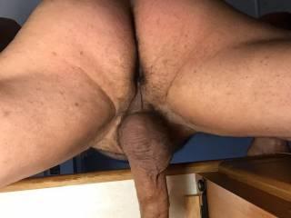 Beautiful ass balls&cock shot you made me hard!!!