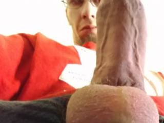 Fat cock after edging all day