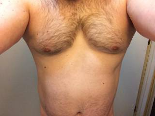 Like my hairy chest?