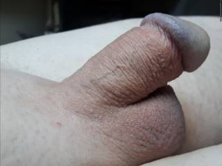 Smooth cock.