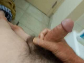 Just figured I would upload one more. It is a little shy of six but it did get stiff and hard and ready too go
