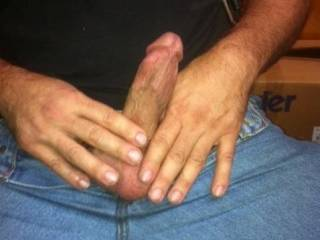 my dick getting hard while gf smothers my face with her hot sweaty feet
