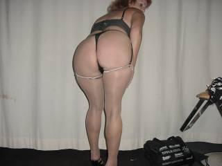 Deb showing off