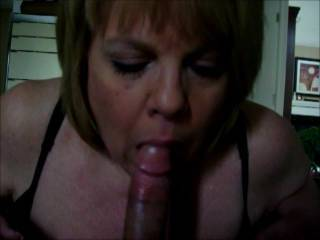 Mrs Daytonohfun sucking on my cock while her hubby was out of town.  Her hubby loves sharing her with his friends.  Who wants a blowjob???