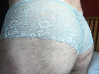 Playing in my wifes panties. Fuckable?