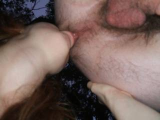 I would have loved to join you!!  LOVE eating hairy ass!!!