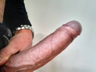 How far inside your pussy do you want me to slide this massive cock of mine?.