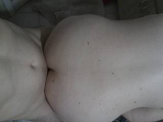 All this pic needs is some thick ropes of hot cum over her soft, smooth back.