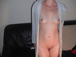 Nice body....nice firm tits and bare pussy...out to steal my heart!