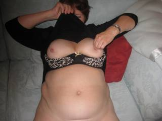 how very pretty those delightful soft tits are mmmm