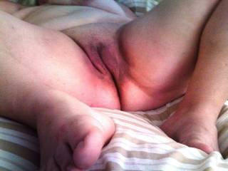 My wet pussy before a good fucking.