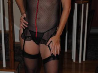 Looking at your beautiful body with this sexy lingerie got my cock as hard as it can be! I just can't stop stroking my hard cock looking at this pic!