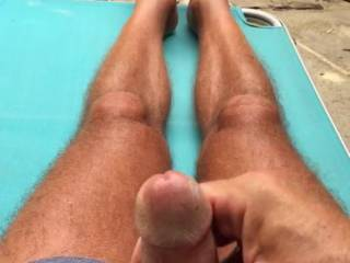 Great video, hot cock, sexy feet, and love how you wiggle your toes while you play.
