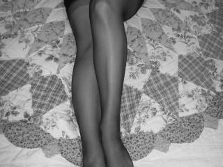 since I also adore nice legs and feet, besides nice boobs ... I only have one word: WOW :)