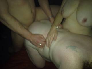 her hubby fucks me with help from her ,lucky girl arent i