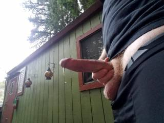 Dripping with precum