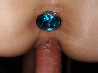 I love being filled in both holes! Dick and diamond = luck 😀
