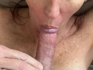 I love pulling out of her pussy and watching her taste her own pussy juices and cum. Her fucking and blow job skills are both amazing, so it is a win-win no matter what she does!