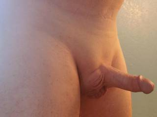 Freshly shaved, ready for a ladies inspection