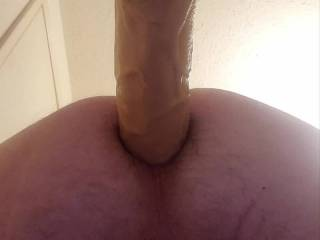 Would you cum in my ass if I rode just the head of your cock, or would it take longer strokes to make you explode inside of me?