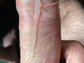 Thick tasty precum