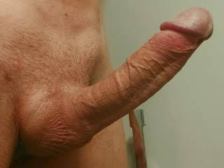 full mast after jerking off