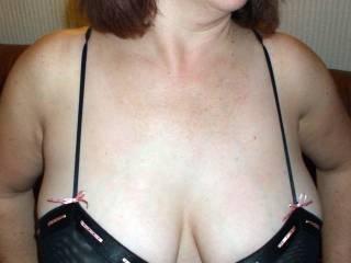 Nice cleavage view