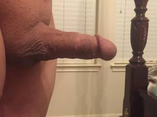 I shaved him and now he is ready to slide his cock down my throat