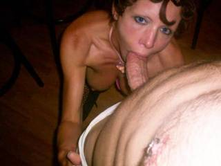 That looks really appetising , hope she got was she was sucking for , great dick. thnx