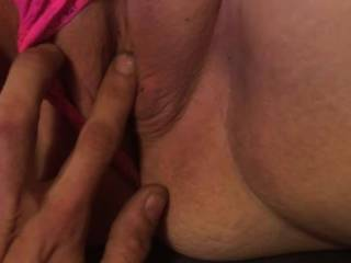 I was sending my girlfriend a video while she was at work of him playing with my pussy