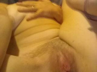 My pussy is just dripping..