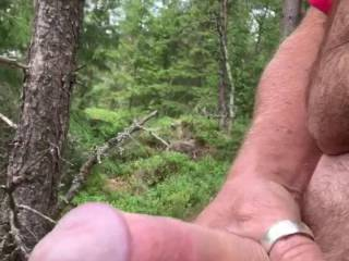 took a break in the woods, looked at sexy zoig women
