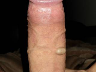 My wife teases my dick before she swallows it all...