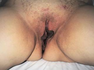 Used pussy for cocks.
