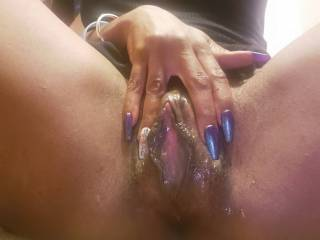 I am craving your cock. If you were here now would you let me open my hot pussy for you? Can you fill me up with your fertile seed? I am in heat and my pussy is so willing and ready yo be your cum hungry slut.