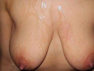 Why not a nice cumshot on her gorgeous boobies? We hope that you enjoy !!!Creamp If you like our posted pics and videos remember to leave some comments. We love them!!!